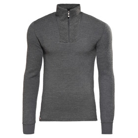 Woolpower 200 Zip Turtleneck Unisex Grey